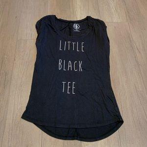 Recycled Karma Little Black Tee